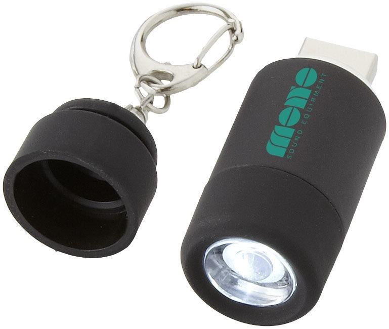 Mini lampe avec chargeur USB Avior publicitaire par KelCom