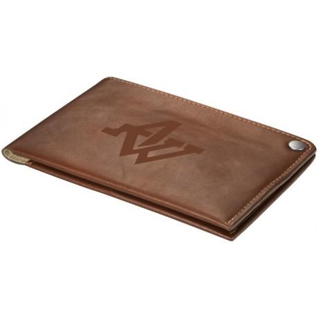 Portefeuille de voyage en cuir personnalisable