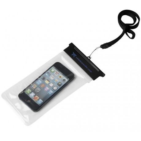 Étui étanche avec pochette tactile pour smartphone Splash personnalisable