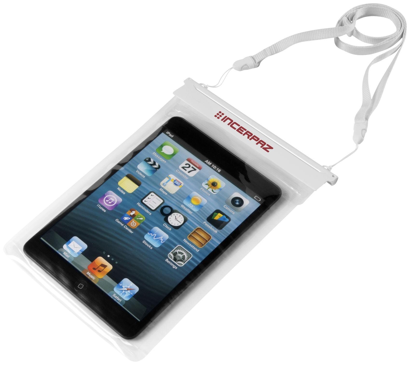 tui tanche pour mini tablette avec pochette tactile. Black Bedroom Furniture Sets. Home Design Ideas