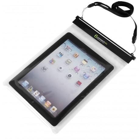 Étui étanche pour tablette avec pochette tactile Splash promotionnel