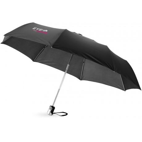 """Parapluie 21,5"""" 3 sections à ouverture et fermeture automatiques publicitaire"""