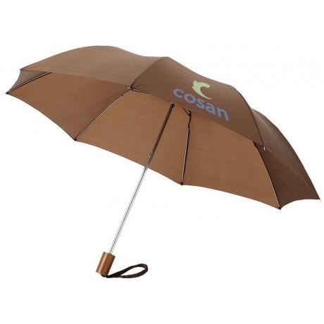 """Parapluie 2 sections 20"""" pour entreprise"""