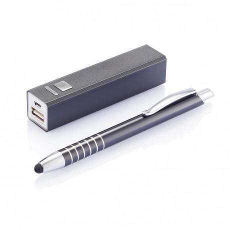 Coffret batterie et stylo tactile pour entreprise