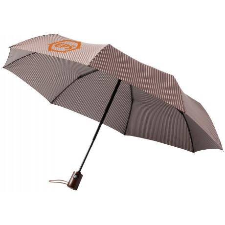"""Parapluie automatique 3 sections 21"""" personnalisable"""