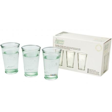 Trois verres à eau personnalisé