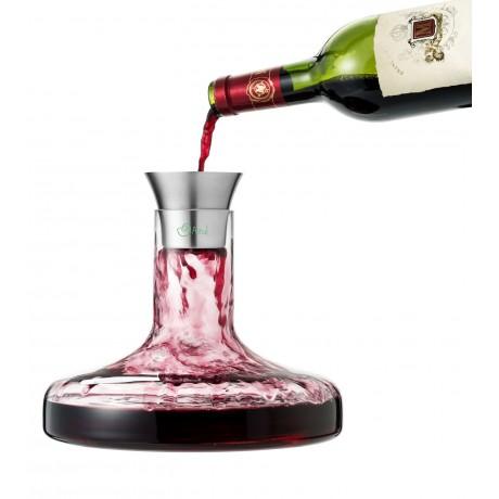 Set carafe à vin Flow personnalisé