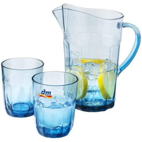 Carafe avec 2 verres pour entreprise