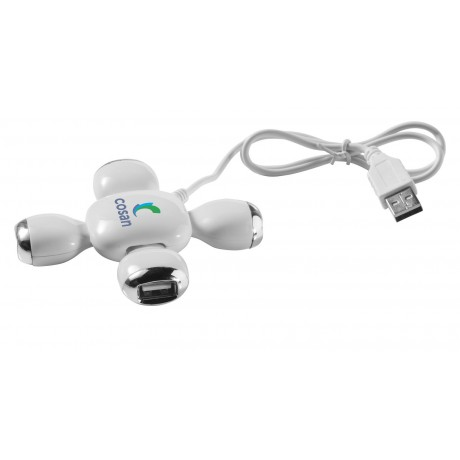 Hub USB flexible 4 ports Yoga publicitaire