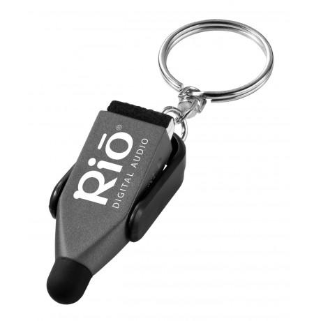 Chaîne de porte-clés stylet et nettoyeur d'écran Arc pour entreprise