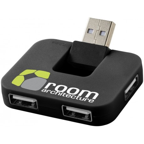Hub USB 4 ports Gaia pour entreprise