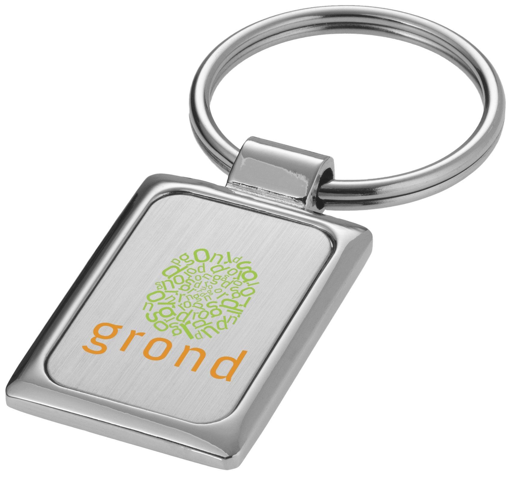 porte-clés rectangulaire pour entreprise par kelcom