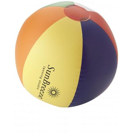 Ballon de plage plein Rainbow publicitaire