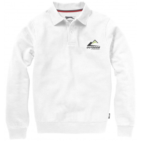 Sweater col polo Referee publicitaire
