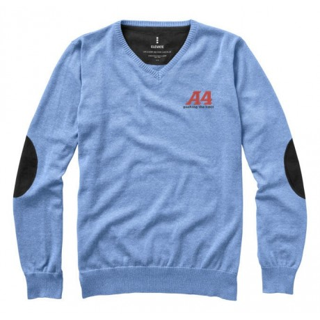 Pullover Col V Spruce personnalisable