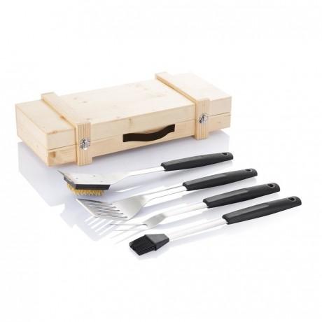 Set d'outils barbecue pour entreprise