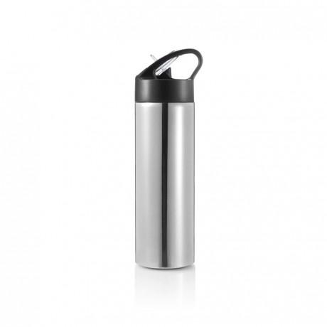 Bouteille d'eau avec paille Sport personnalisée