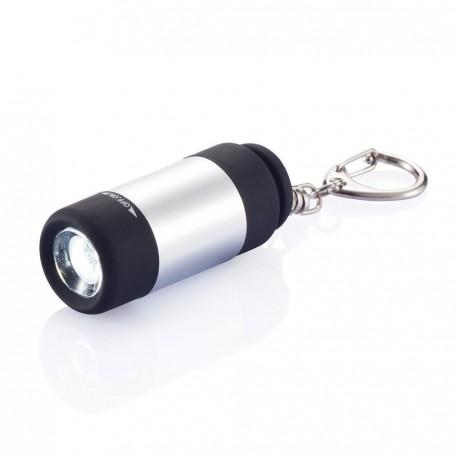 Torche USB rechargeable avec porte-clés pour entreprise