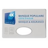 Protege carte de credit à personnaliser