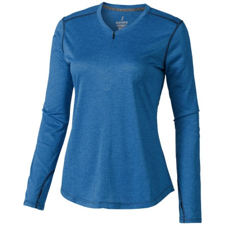 T-shirt Manches longues Femme Quadra publicitaire