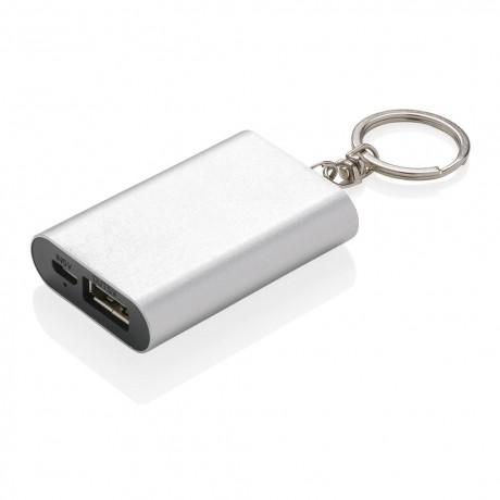 Porte-clés powerbank 1000mAh personnalisable