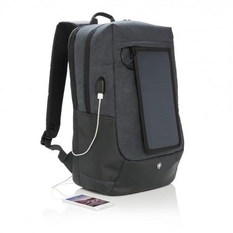 """Swiss Peak sac à dos solaire et ordinateur 15"""" pour entreprise"""