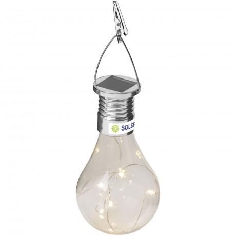 Lampe LED solaire Surya personnalisable