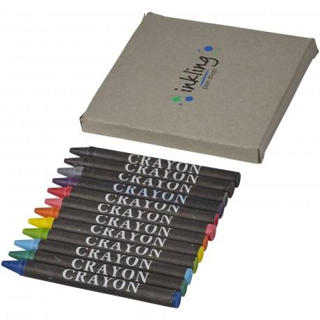 Set de 12 crayons gras personnalisable