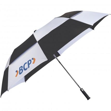 """Parapluie ouverture automatique 2 sections 30"""" Norwich personnalisable"""