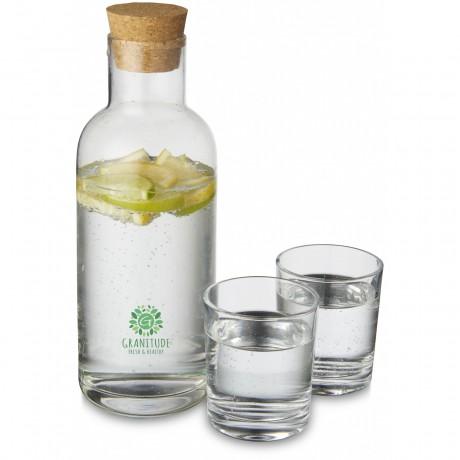 Set carafe et verres Lane personnalisable