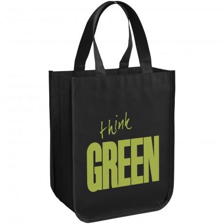 Petit sac shopping laminé personnalisée