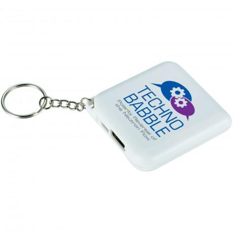Chargeur d'urgence avec porte clés 1800mAH promotionnel