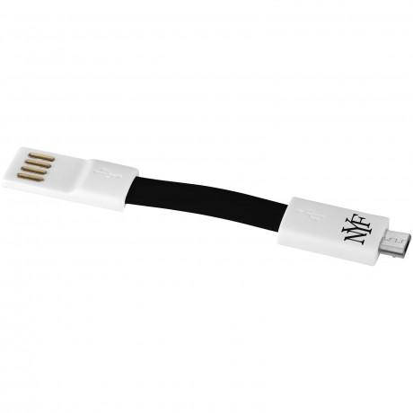 Porte-clés micro USB aimanté personnalisable