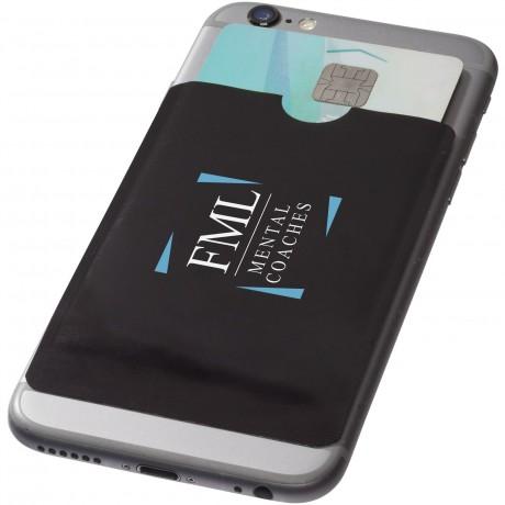 Porte carte RFID pour smartphone publicitaire