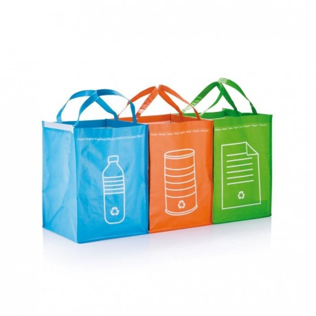 Poubelles à déchets recyclable personnalisée